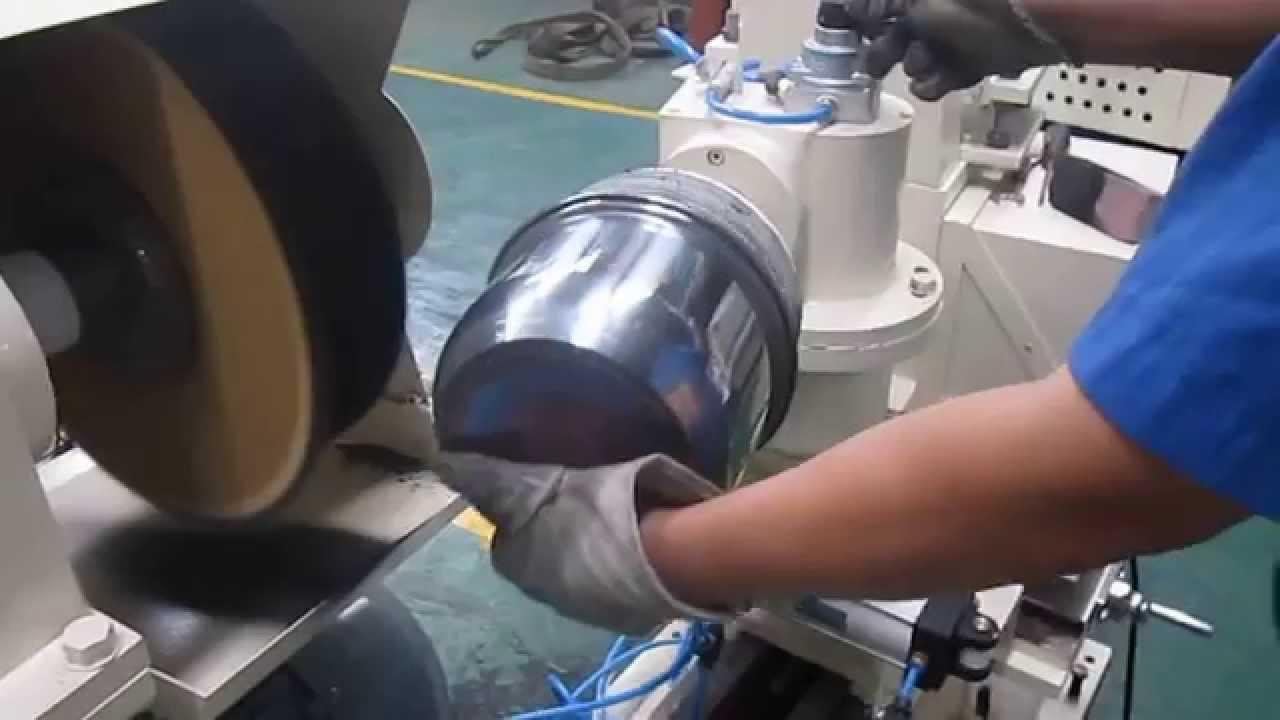 Pot polishing